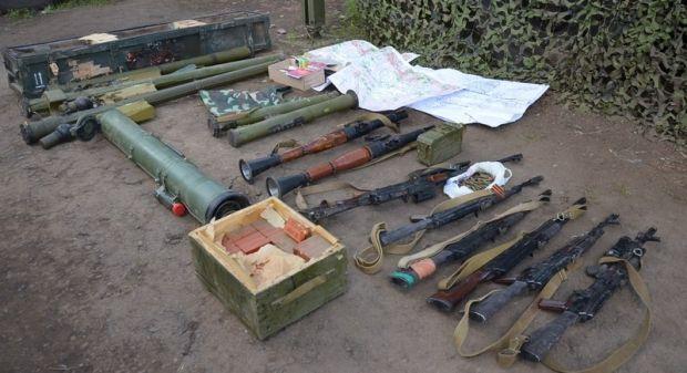 россиянин, диверсант, оружие / фото пресс-службы Минобороны