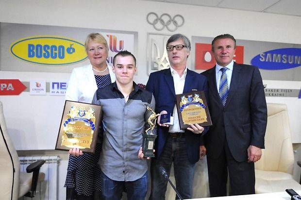 Олег Верняев во второй раз становится лучшим спортсменом месяца / noc-ukr.org