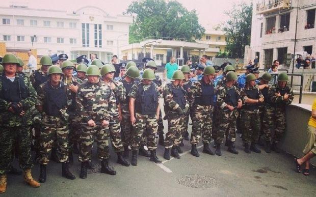 В Одессе произошли беспорядки