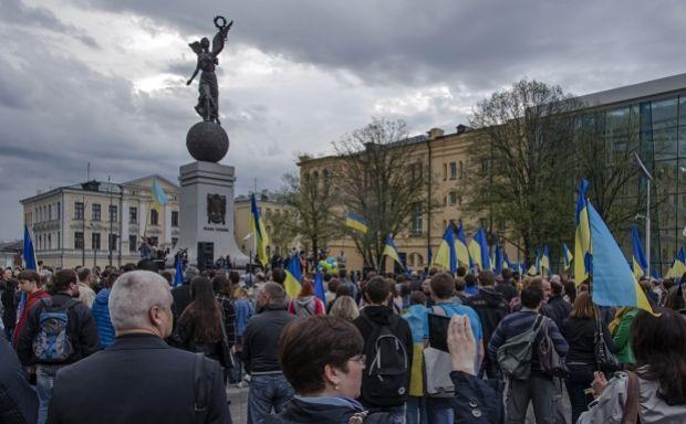 В Харькове требовали начать подготовку к обороне / фото eurokharkiv.org