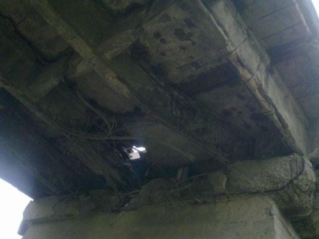 Террористы заминировали два моста / Донецкая ОГА