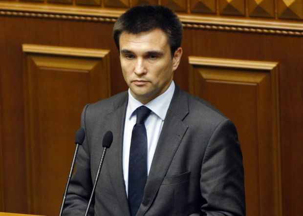 Klimkin is in Vienna to take part in conference on security of OSCE / REUTERS