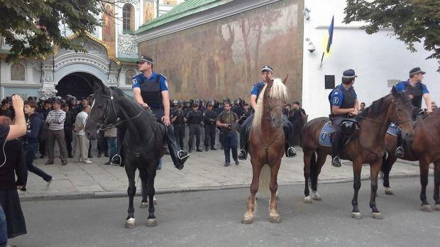 Поблизу Лаври багато сепаратистів / Facebook Олександр Рудоманов