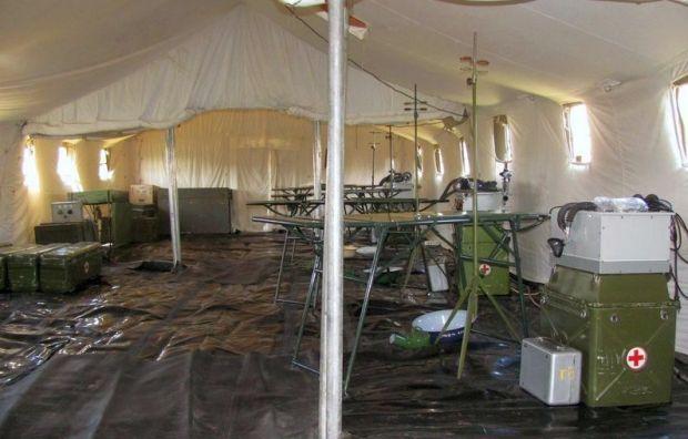 Турция поможет оборудованием военным госпиталям / фото mil.gov.ua