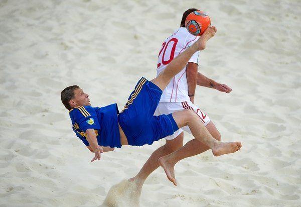 Сборная Украины одолела Швейцарию в серии пенальти / beachsoccer.com.ua