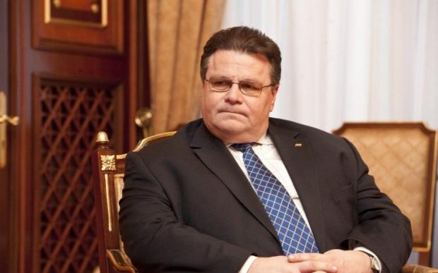 Линкявичюс считает, что гибкость в переговорах с РФ нерезультативная / Фото: УНИАН