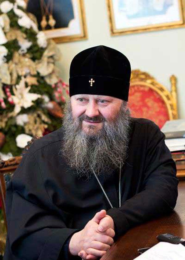 Наместник Киево-Печерской лавры митрополит Павел