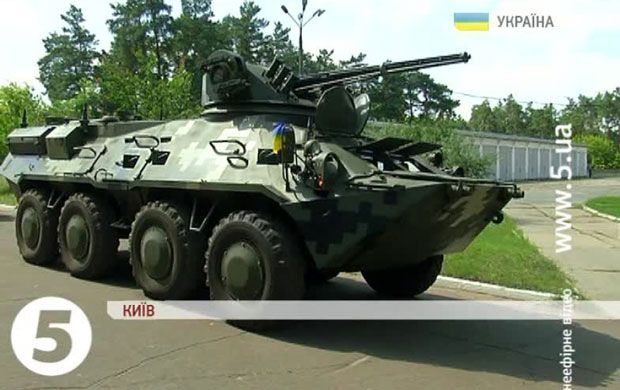 Нацгвардія отримала п'ять нових БТР-3Е виробництва Київського бронетанкового заводу / 5 канал