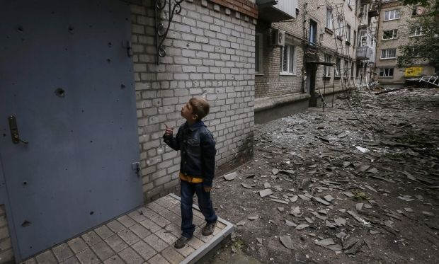 ЮНИСЕФ: Отвойны наДонбассе пострадал млн детей