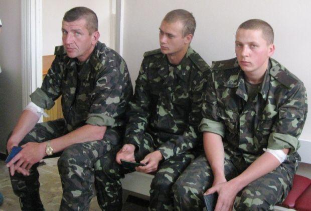 Військові здали донорську кров/ фото mil.gov.ua