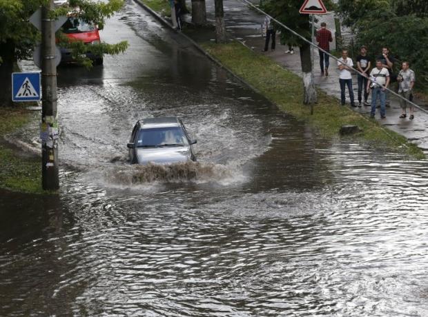 Россия уходит под воду