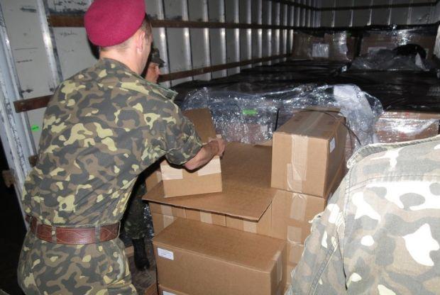 За півтора місяці в зону АТО відправлено 8,5 тис бронежилетів / фото mil.gov.ua