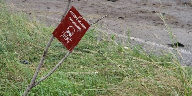 National Guard finishes mine lifting at territory between Izyum and Slavyansk / press center of ATO