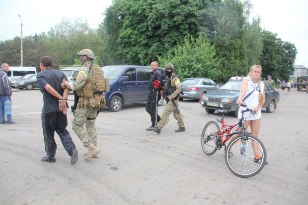 Террористов задержали / facebook.com/anton.petrukov