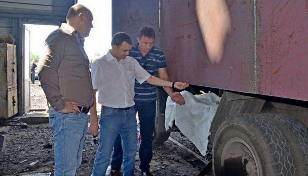 Броньовані КамАЗи передадуть військовим / фото mil.gov.ua