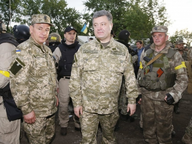 Poroshenko holds meeting with law-enforcement officers concerning situation in east of Ukraine  / UNIAN