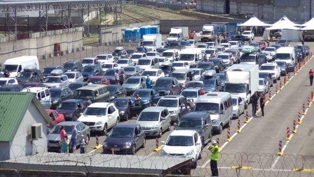 Очередь на переправе достигла 1700 автомобилей / facebook ЕТД