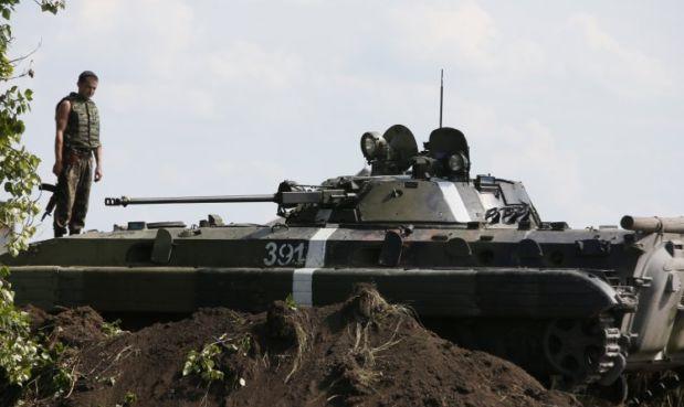 Под Зеленопольем продолжается бой / УНИАН