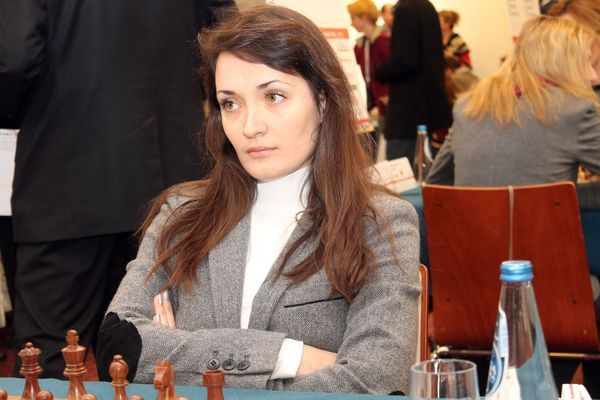Екатерина Лагно теперь будет выступать за сборную России / ruchess.ru