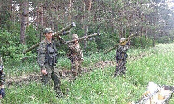 Терористи стріляли з лісосмуги