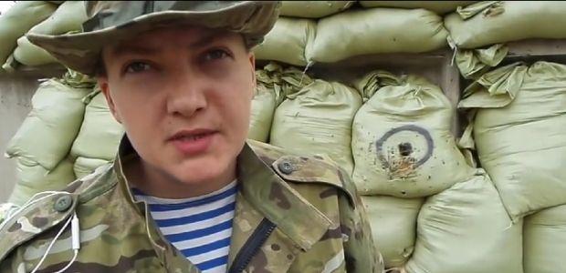 Надежда Савченко пересекла границу России в наручниках и мешке на голове