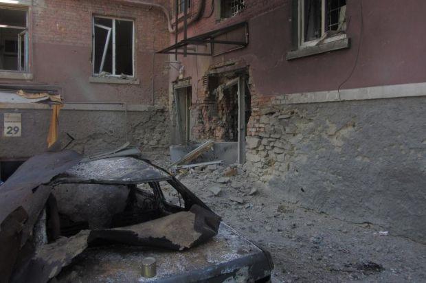 В Луганске начали восстанавливать инфраструктуру / фото @Dbnmjr