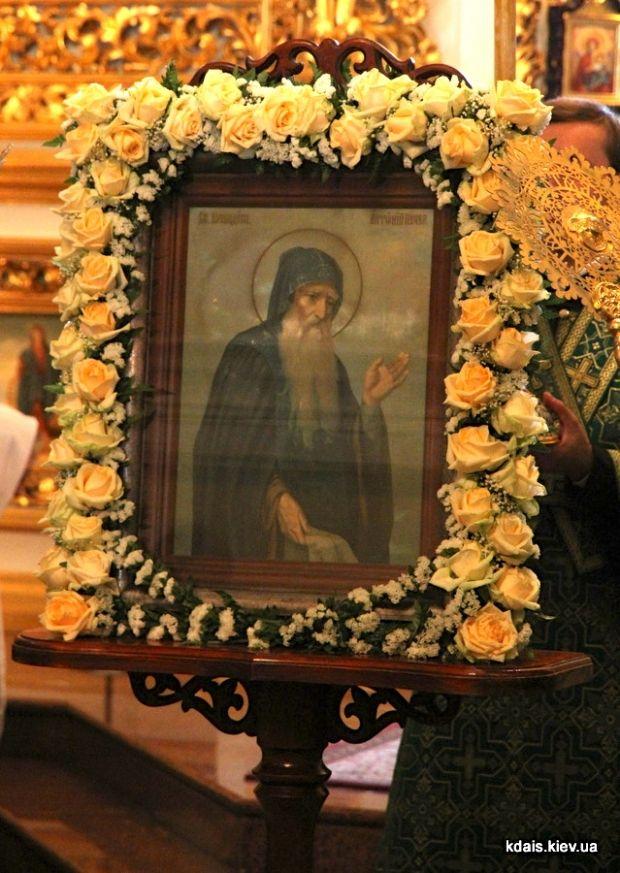 Преподобный Антоний Печерский, икона.