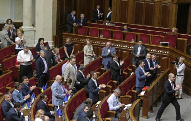 Фракцию КПУ в парламенте распустили / Фото УНИАН