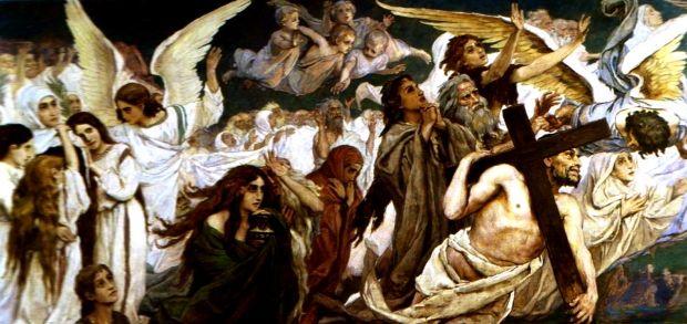 «Радость праведных о Господе». В.Васнецов (1848–1926).