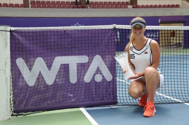 Элина Свитолина выиграла турнир в Баку во второй раз подряд / bakucup.az