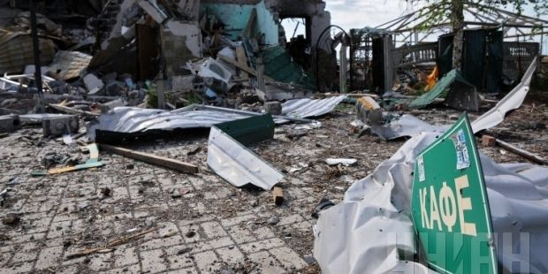 Украина приступила к восстановлению разрушенного боевиками Донбасса / фото УНИАН