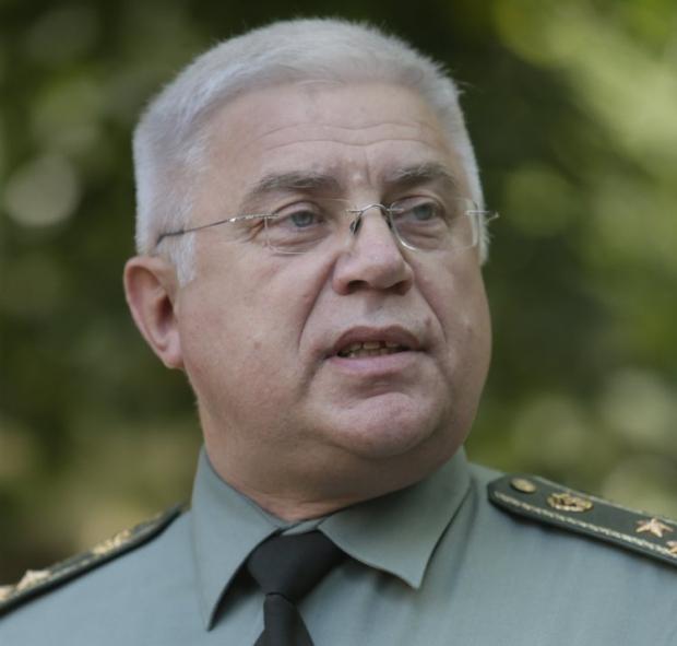 Директор Военно-медицинского департамента Министерства обороны Украины полковник медицинской службы Виталий Андронатий / УНИАН