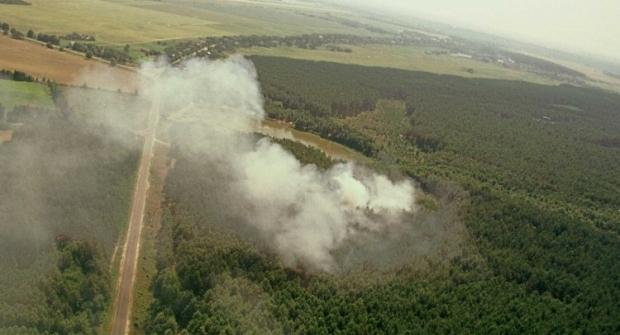 Иллюстративная фотография: лесные пожары / Фото: УНИАН