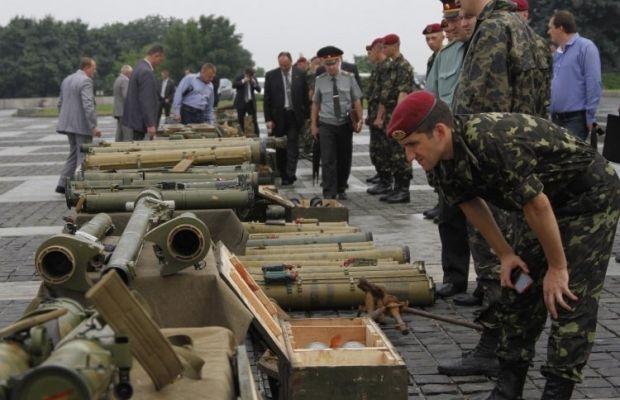 У києві показали російську зброю