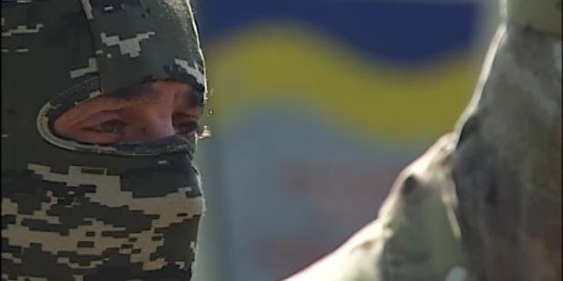 АТО, батальон Золотые ворота / ТСН