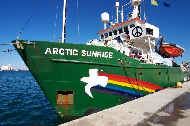 Arctic Sunrise було заарештовано рік тому / Wikipedia