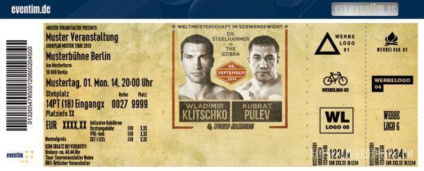 Билеты на матч Кличко - Пулев разлетились моментально / klitschko-brothers.com
