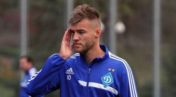 Ярмоленко продлил контракт на год / dynamo.kiev.ua