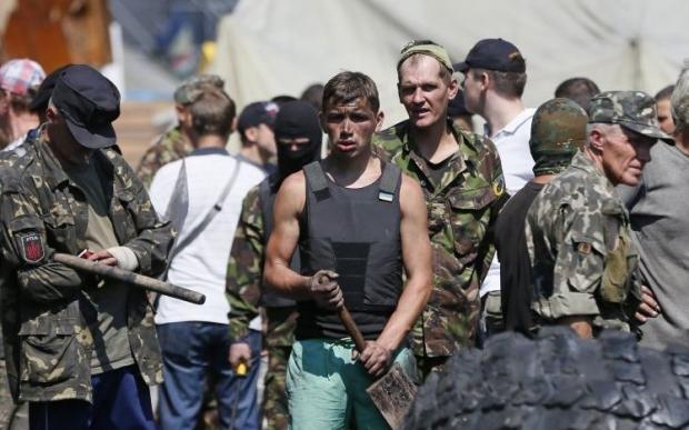 Кличко заявляет, что у обитателей Майдана изъяли паспорта РФ / Фото УНИАН