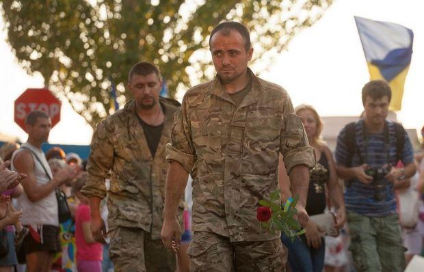 Десантники повернулися додому із зони АТО / Ілля Кошовський / mil.gov.ua