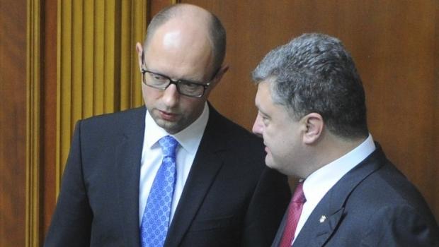 Порошенко просит Яценюка помочь бизнесу в Украине / Фото УНИАН