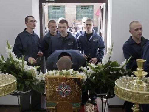 Свято-Николаевский храм открыли на территории Киевского СИЗО, 13 августа, фото УНИАН.