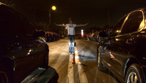 В Киеве снова проведут уличные автогонки / фото obzor.lg.ua
