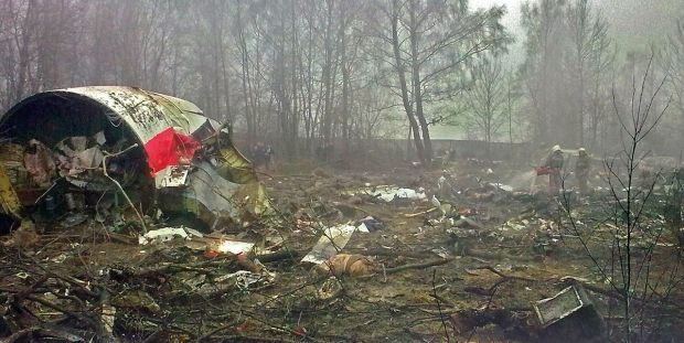 The site of the Smolensk plane crash / Photo from wikipedia.org