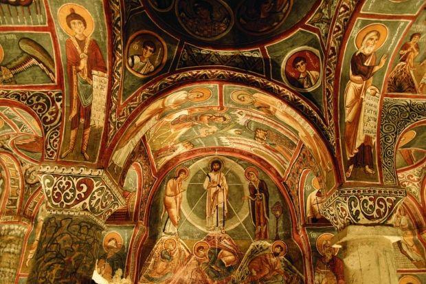 Фреска так наз. «Темной церкви» (Каранлик Килисе). XII в. Гёреме, Каппадокия, Турция
