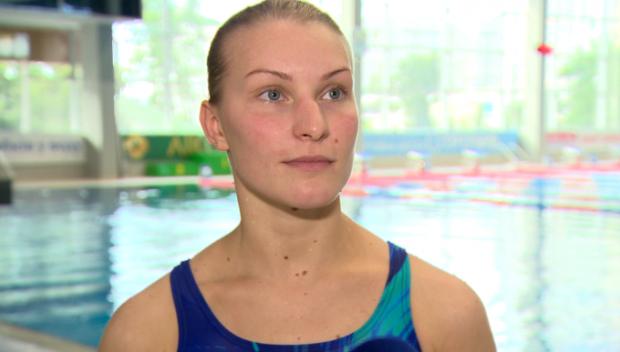 Елена Федорова вошла в четверку лучших на метровом трамплине / xsport.ua