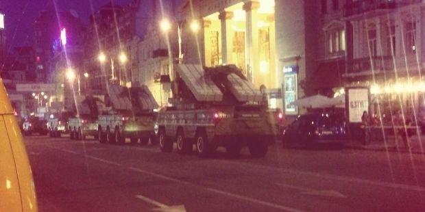 На Майдані почалася репетиція параду / twitter.com/Yur4ik