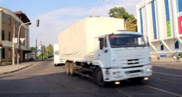 Грузовики уже в Луганске / informator.lg.ua