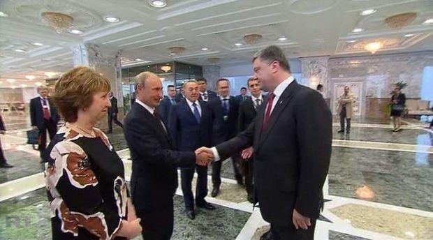 Путин Порошенко / RT
