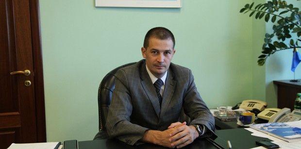 Глава Государственной авиационной службы Украины Денис Антонюк